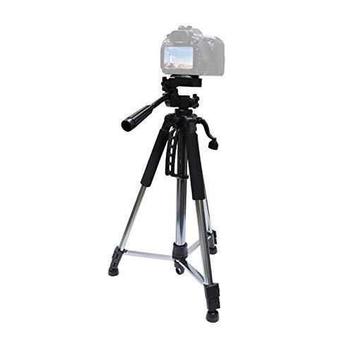 Trípode de cámara Profesional, Accesorios PTZ del Soporte del trípode portátil del teléfono móvil, Trípode de Aluminio para cámara SLR de fotografía de Viaje