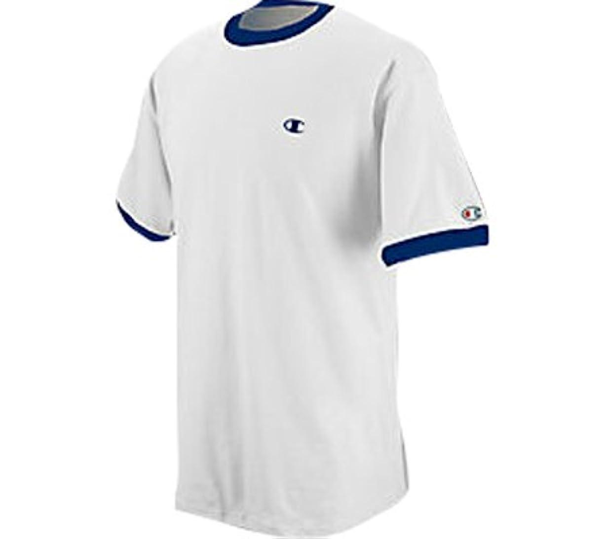 ラテン熱意矢印(チャンピオン) Champion メンズ リンガー Tシャツ 3枚セット US サイズ: M カラー: ホワイト