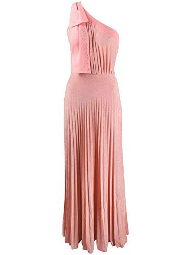 Luxury Fashion | Elisabetta Franchi Dames AB15801E2V78 Roze Polyester Jurken | Lente-zomer 20
