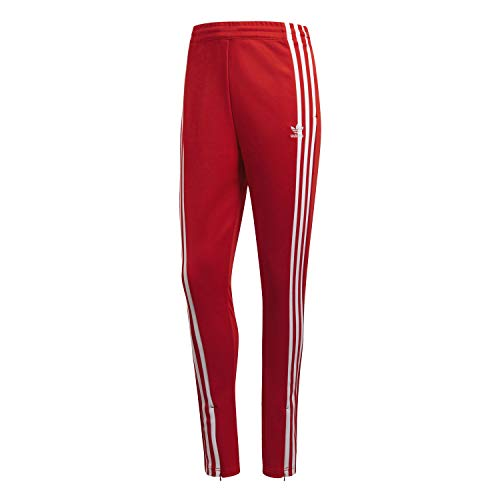 adidas Originals Women's Superstar Trackpants (S, Red)
