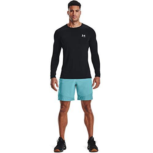 Under Armour UA Training Vent 2.0 SS, atmungsaktives Sport Shirt, leichtes komfortables Herren T-Shirt Herren, Red / Black, 2XL