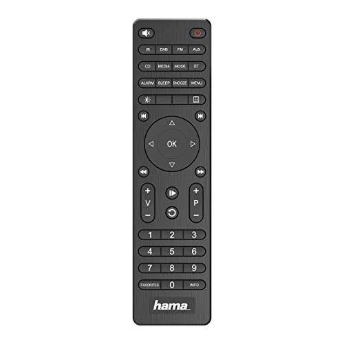 Hama Internetradio mit Digitalradio-Empfang & Handy-Ladefunktion, Smart Radio DIR3200SBT (WLAN/DAB/DAB+/FM, Bluetooth/Spotify Streaming, Stationstasten, Radio-Wecker, UNDOK-App) Mini Internet Radio
