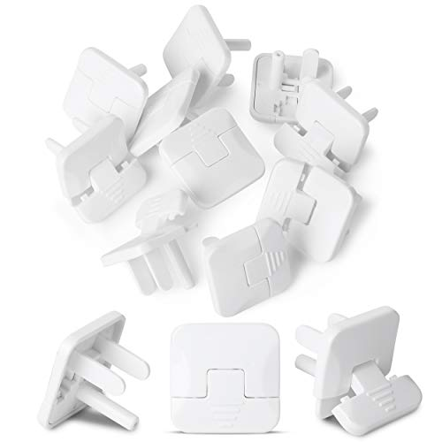Bates- Outlet Covers Child Proof, 10 Pack, 3 Prong Outlet Covers, Baby Proof Outlet Covers, Baby Outlet Covers, Child Proof Outlet Cover, Child Safety Outlet Covers, Electrical Safety Baby Products