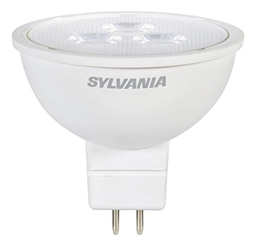 SYLVANIA General Lighting 75129 Sylvania Non-Dimmable Led Light Bulb, 5 W, 12 V, 350 Lumens, 3000 K, CRI 81, 2 in Dia X 1.8 in L, Warm White, 3 Piece