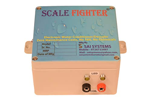 SAI SYSTEMS Scale Fighter 100 L Water Conditioner and Descaler for 1-Inch...