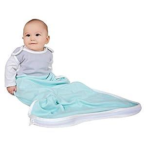 Antipodes Merino Saco de Dormir para bebés y niños pequeños – Cualquier Temporada, Hecho de Lana y algodón – un tamaño…