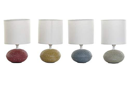 takestop Lámpara de mesa de porcelana con decoración de estilo oriental, color aleatorio