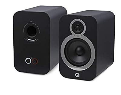 Q Acoustics 3030i Bookshelf Speaker (Pair) (Black) by Q Acoustics