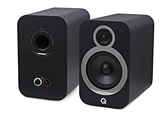 Coppia di altoparlanti da scaffale, colore nero, principe: Bassreflex a 2 vie Diametro del woofer centrale: 165 mm, diametro del tweeter: 22 mm Gamma di frequenza (+/-3 dB, -6 dB): 46 Hz - 30 kHz, impedenza nominale: 6 Ω. Potenza amplificatore consig...