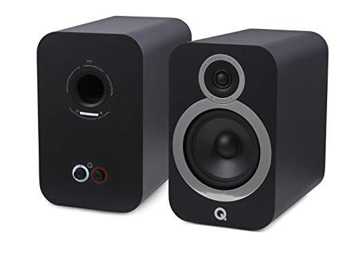 Q Acoustics 3030i - Boekenplank Speaker - Zwart