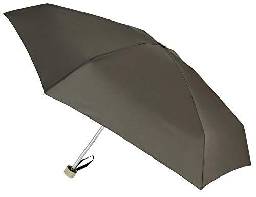 Paraguas Vogue Ultra Mini: sólo Pesa 200 Gramos. Elige uno de Sus 12 Colores, el Que más Vaya con tu Personalidad. (Marrón Topo)