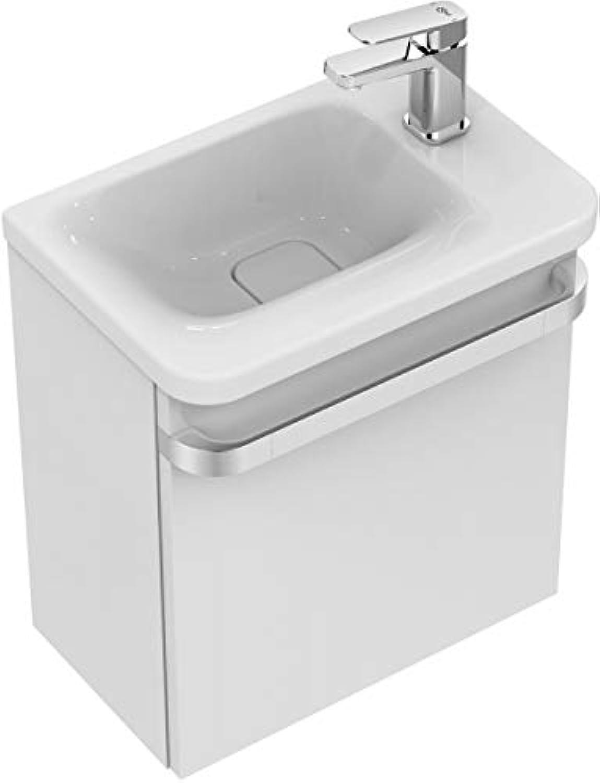 Ideal Standard Handwaschbecken Tonic II, rechts Ablage rechts,460x310x140mm,Wei mit IP, K0867MA