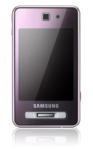 Samsung SGH-F480i Smartphone (Touchscreen, 5MP Kamera, UMTS, HSDPA) Coral pink