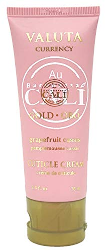 hand and cuticle creams Baronessa Cali Valuta Grapefruit Cassis Cuticle Cream 2.5 Ounce – Softens and Conditions Cuticles and Hands