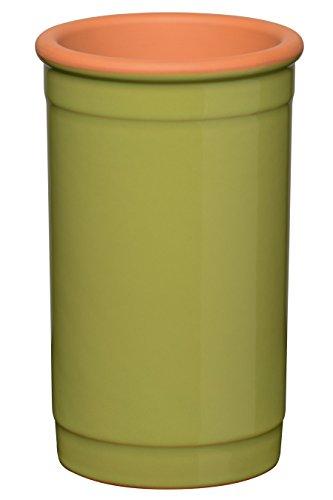 Premier Housewares Weinkühler, Ton, lindgrün, 13 x 13 x 20 cm