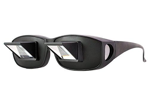 Lesebrille, Rabi Prisma Brille Horizontale Brille Lazy Brille Liege zum Lesen/Fernsehen