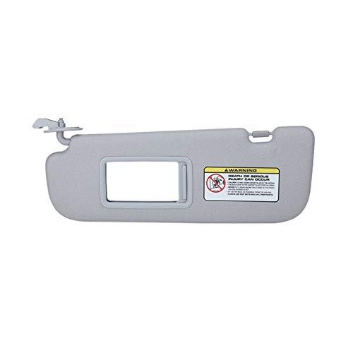ZHANGJINYAN 852103x000TX Coche Interior Sun Visor Shield Shade Board Fit para Hyundai Elantra 2012 2013 2014 2014 2015 Lado Izquierdo (Color : Gray)