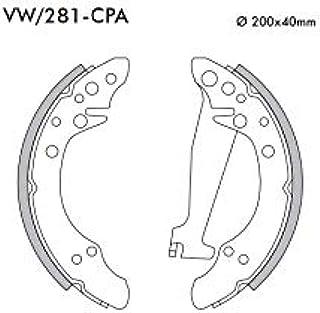 Sapata Freio Fras-Le VW/281-CPA comp. Volkswagen: Gol Gv 08/,Santana ,Quantum