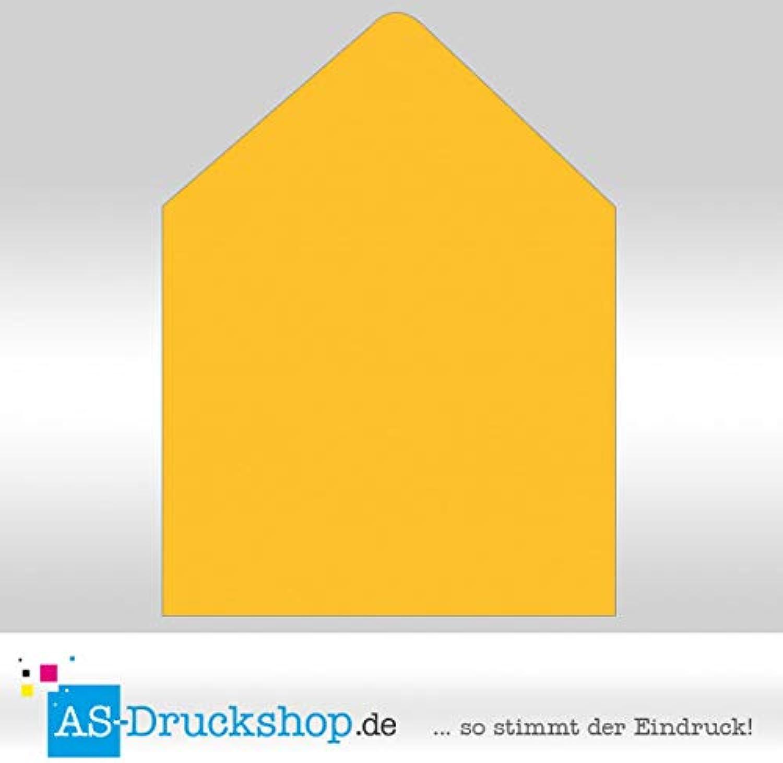 Briefumschlag KuGrün - Soleilgelb - mit mit mit Seidenfutter Quadrat - 164 x 164 mm   50 Stück B0794X6P66 | Günstige  f46a21