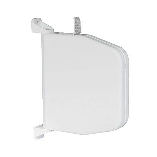 Gurtwickler Aufputz mit Scharniersystem incl. 5m Gurt f. Rolladen Aufschraubwickler aufklappbar Mini 14mm Gurtbreite für Rollladen (Gurtwickler inkl. 5m Gurt)