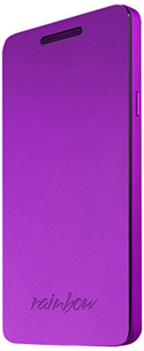 Wiko 92271 Flip Cover für Rainbow lila