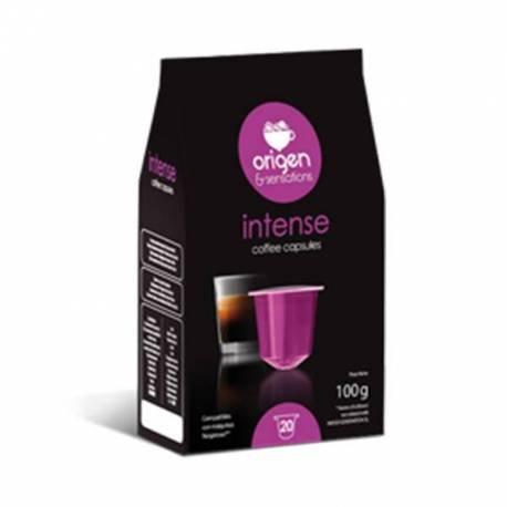 Cápsulas Compatibles Nespresso®* Origen & Sensations - Intenso- 120 unidades