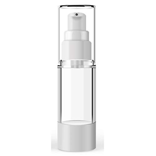 Yiwa 15ml-100ml bouteille cosmétique en plastique bouteilles rechargeables émulsion spray transparent Airless Pump Container à vide 15ml flat mouth vacuum lotion bottle