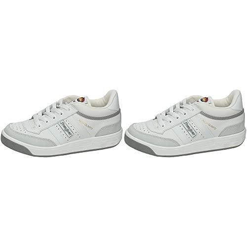 J-HAYBER New Olimpo - Zapatillas De Running para Hombre, Color Blanco, Talla 44 + New Olimpo - Zapatillas Deportivas para Hombre, Color Blanco, Talla 42