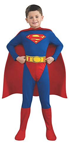 Rubie's-déguisement officiel - Superman - Déguisement Superman Attention taille grand - Taille S 3-4 ans- CS808727/122