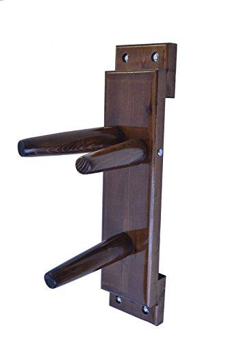 Wing Chun Wooden Dummy Plane Walnut Colore