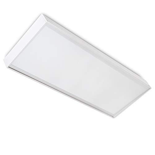 Greenice | Panel LED Slim 120x60cm 72W 7900lm + Kit de Superficie | Blanco Frío