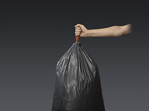 Joseph Joseph IW4 Compaction General Waste Bags, Pack of 20, Black, 30 L