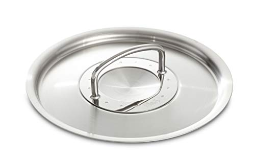 Fissler Metalldeckel, Metall, Edelstahl, 28 cm