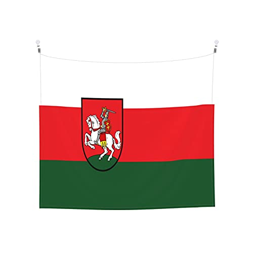 Tapisserie Flagge von Weißrussland, Wandbehang, Boho, beliebt, mystisch, Trippy Yoga, Hippie, Wandteppiche für Wohnzimmer, Schlafzimmer, Wohnheim, Heimdekoration, schwarz & weiß Stranddecke