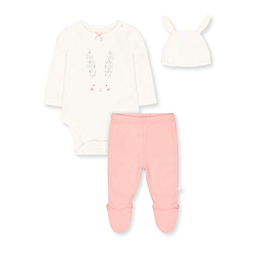 Mothercare Io G Bunny Novelty 3pc Set Body, (Multi 1), 24-36 Months (Size:98) para Bebés