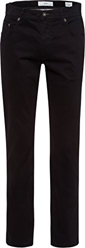 BRAX Feel Good Feel Good Herren Hose Cooper – Regular Fit, Stretch, normaler Bund – Baumwolle, Baumwollstretch Perma Black 33/34