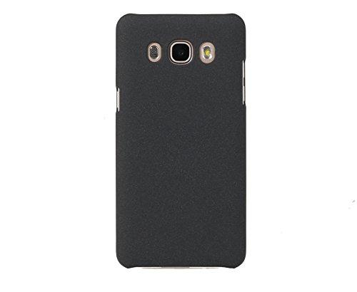ARTILVST Samsung Galaxy J7 2016 Funda,Ultra fino medio rodeó la estructura de superficie mate Durable PC Protector teléfono funda para Samsung Galaxy J7 2016 Smartphone [negro]