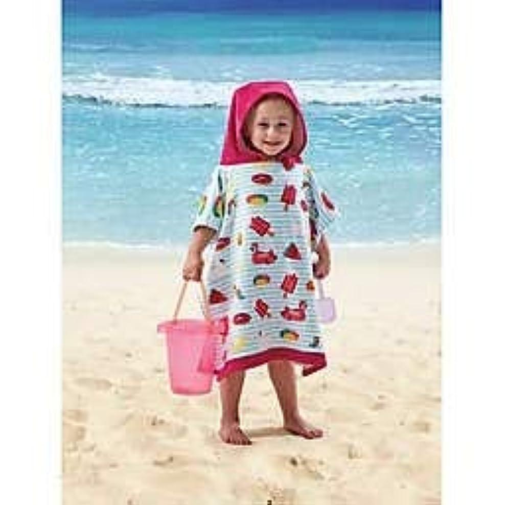 ステーキバケット床を掃除するビーチ、プールパーティー、バス用フード付きタオル