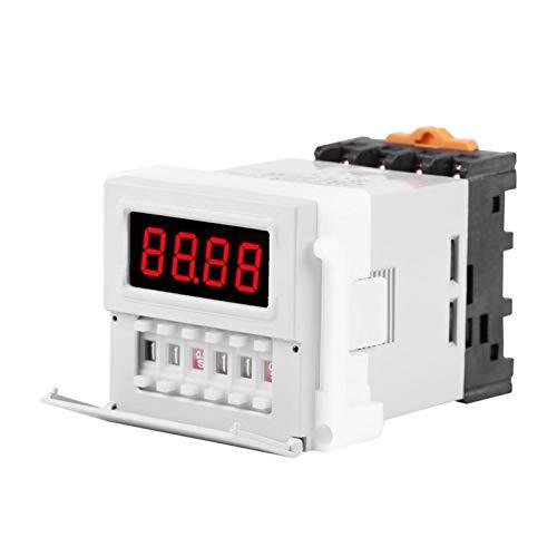 Jinyi Relé de Ciclo, relé de retardo Estable Durable y Resistente al Desgaste Interruptor de Temporizador de Tiempo de Ciclo Digital preciso Escuela de posgrado de fábrica para Laboratorio