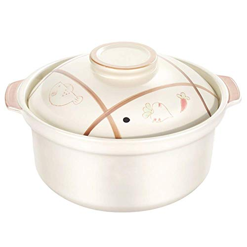 Casserole Dish - StockPot - Stew Pan - Fast Heat Conduction, Durable, Fine Porcelain, Good Heat Preservation Effect, Thick Pot, Easy To Clean (Color : A, Size : Capacity2.4L)