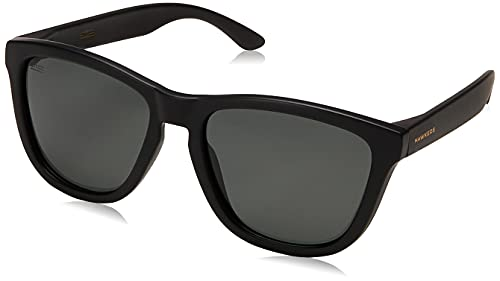 HAWKERS One Polarized Gafas de Sol, Black Dark, Talla única Unisex Adulto
