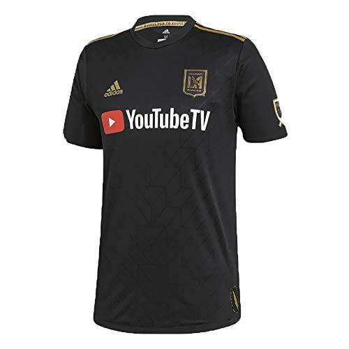 adidas Los Angeles FC Authentic Home Jersey - Men's Soccer M Black