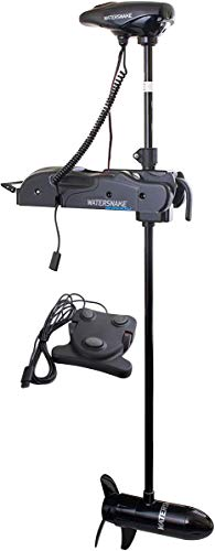 Watersnake - Shadow Bow Mount Foot Control Motor (44-Pound Thrust, 48-inch Shaft, 12-Volt)