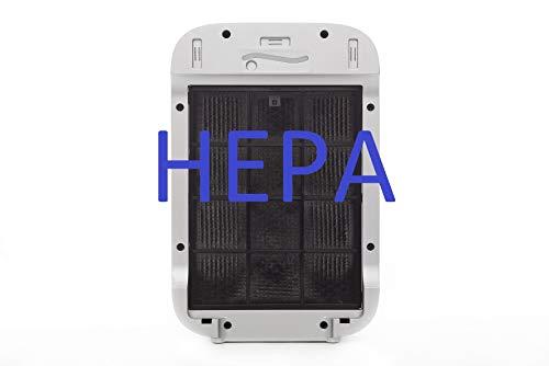 Haverland FILTERS AIRPURE19 | Pack 2 Filtros para Purificador de Aire Haverland AIRPURE19 | 1 Filtro HEPA + 1 Filtro Carbón Activo Desodorizante | Elimina Contaminantes y Alergenos