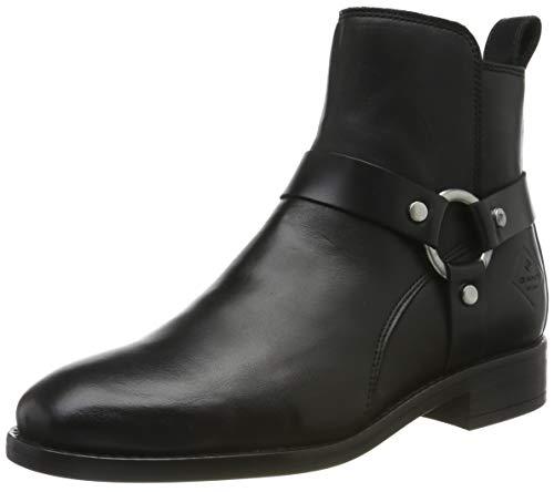 GANT Footwear Damen FAY Biker Boots, Schwarz (Black G00), 38 EU