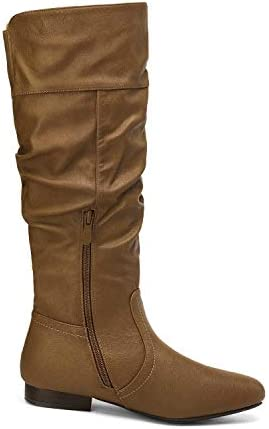 Camel leather boots _image0