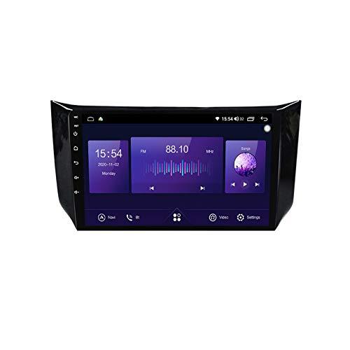 ADMLZQQ para Nissan Sylphy 2012-18 Android Car Radio Radio Double DIN GPS Navi Receptor de Video con Pantalla táctil de 9 Pulgadas Reproductor Multimedia con 4G DSP Carplay,6+128G