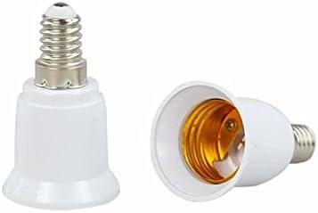 Details about  /E27 LED Light Bulb Lamp Converter Holder Extension D4A1 Adapter 100-230V B1B1