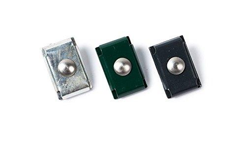 10 x Mattenverbinder/Verbindungs-Klammern/Eckverbinder aus verzinktem Stahl zum Verbinden von Doppelstabmatten mit Einer Drahtstärke von 8/6/8 mm ohne Zaun-Pfosten.