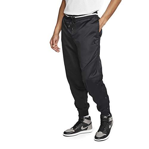 Nike Pantalone Tuta da Uomo Air Jordan in Tessuto Nero AT9824-010